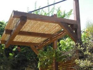 בניית פרגולות עץ בונדר סנטר