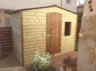 מחסנים מעץ, מחסן עץ, מחסן עץ לגינה